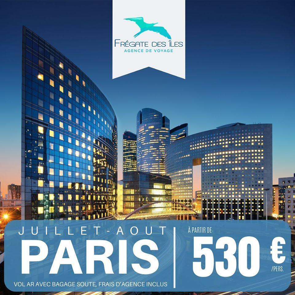 🚨 TARIF PROMO 🚨: PARIS dès 530€*!!!