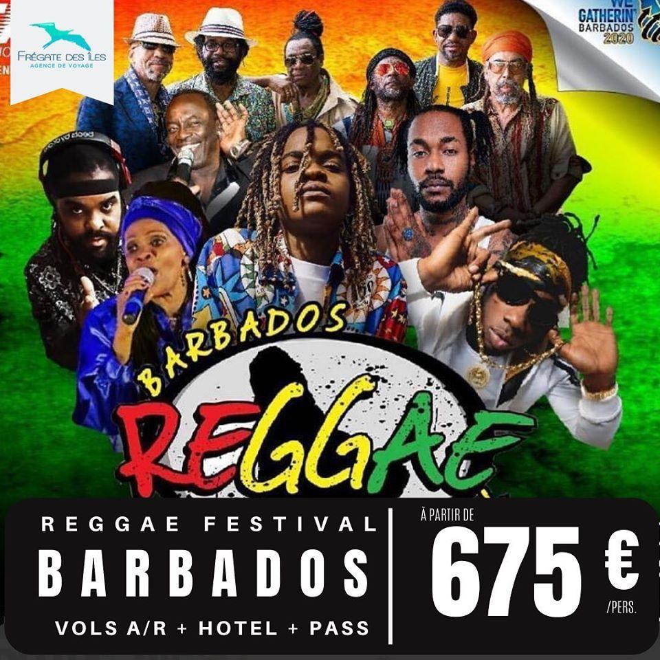 🔥 BARBADOS REGGAE FESTIVAL 🔥