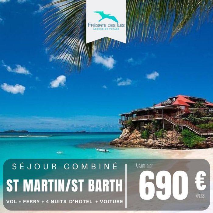 Séjour combiné St Martin/St Barth
